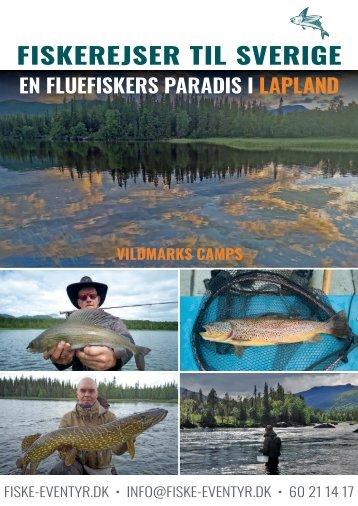 Fiskerejser til Sverige 2021 og 2022