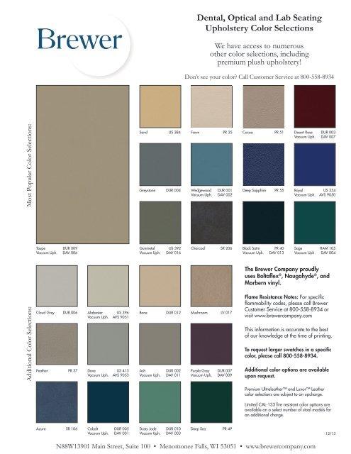 LIT-D-017_Dental-Upholstery-Color-Card
