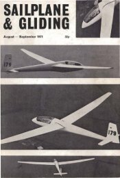 Volume 22 No 4 Aug-Sept 1971 - Lakes Gliding Club