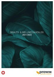 proWIN - Beauty und Wellness Katalog