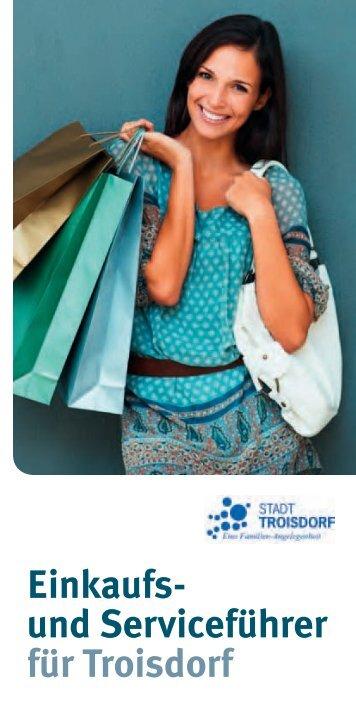 Einkaufs- und Serviceführer für Troisdorf - Stadt Troisdorf