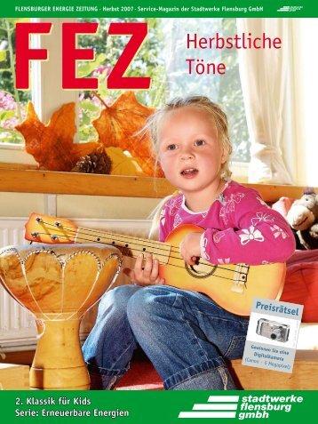 FEZ Herbst 2007 - Stadtwerke Flensburg GmbH