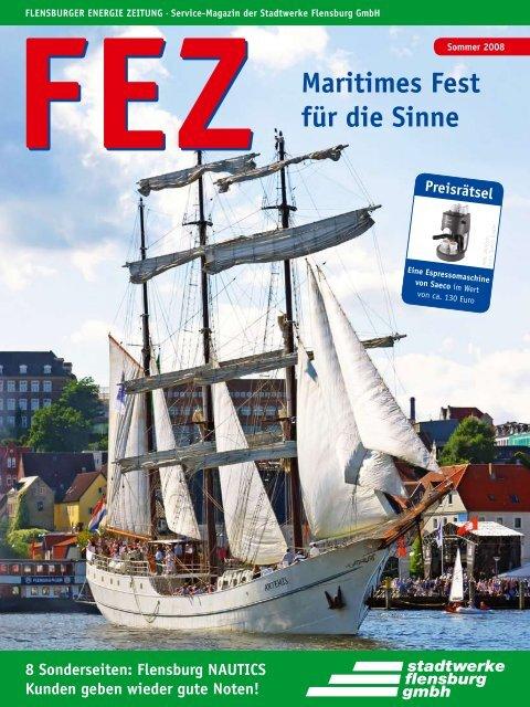 FEZ Sommer 2008 - Stadtwerke Flensburg GmbH