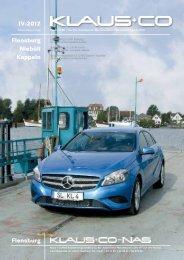Ausgabe IV-2012 - Klaus GmbH & Co. KG