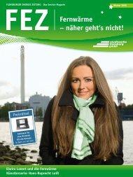 FEZ Fernwärme – näher geht's nicht! - Stadtwerke Flensburg GmbH