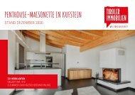 Exposé – KUFSTEIN –Penthouse-Maisonette zum Kauf