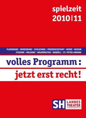 musiktheater - Schleswig-Holsteinisches Landestheater und ...