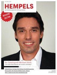 Ex-Tennisprofi Michael Stich - Hempels