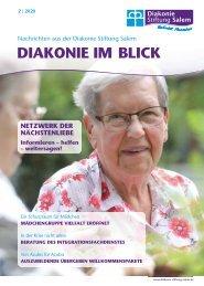 Diakonie im Blick - Winter 2020
