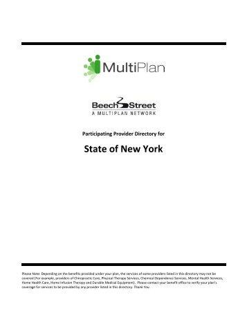 State of New York - Beech Street