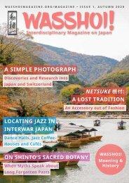 Wasshoi! Magazine #1