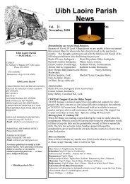 Newsletter 22 - 15th November, 2020 (1)