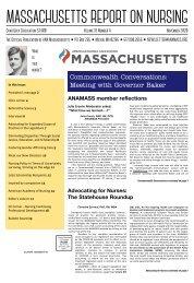 Massachusetts Report on Nursing - December 2020