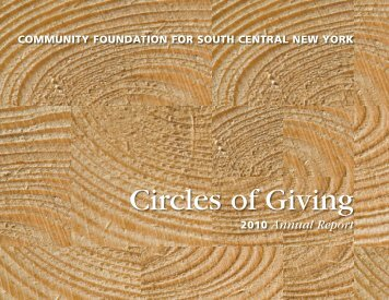 Circles of Giving - The Community Foundation for South Central ...