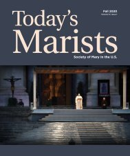 Today's Marists V.6 Issue 1 FALL 2020