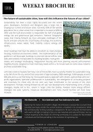 Tower & London Weekly Brochure