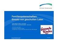 Familienpatenschaften - Nationales Zentrum Frühe Hilfen