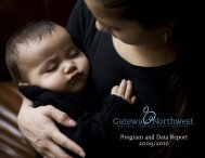 Annual Report - Gateway Maternal and Child Health Consortium