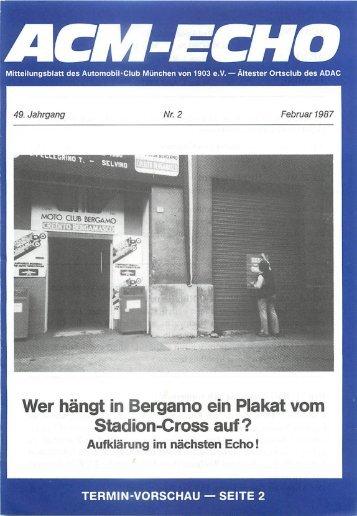 ein Begriff für Sauberkeit Die ^ Münchner Heinzelmännchen - ACM ...