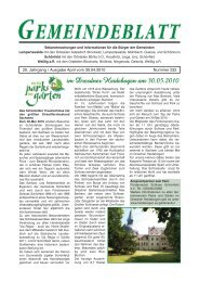 """Große und kleine """"Knirpse"""" - Lampertswalde"""