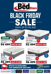 The Bed Store - Black Friday Sale