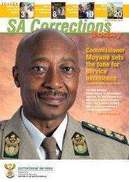 20 - Department of Correctional Services