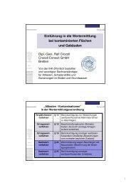 Einführung in die Wertermittlung bei kontaminierten ... - brainGuide