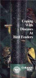 Coping with birdfeeder diseases - National Wildlife Health Center