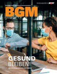 Betriebliches Gesundheitsmanagement Magazin 2020