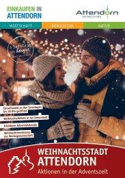 Broschuere Weihnachtsstadt Attendorn 2020