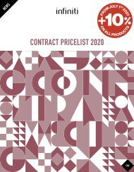 infiniti - Contract News 2020