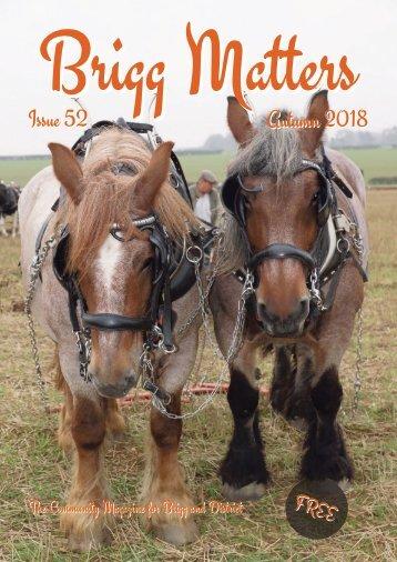 Brigg Matters Issue 52 Autumn 2018