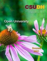 Spring 2021 Open University Schedule (Interactive)