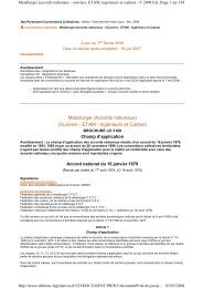 La convention (accords nationaux) - CFDT