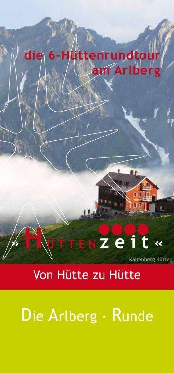 Die Arlberg - Runde