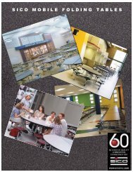education tables brochure 11:Layout 1.qxd - Sico Inc.