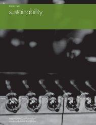Rexam PLC Annual Report 2011 - sustainability