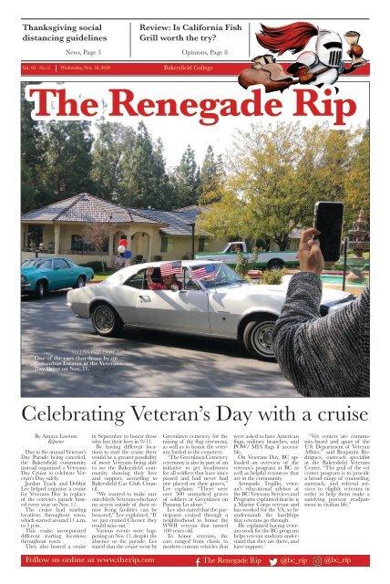 Renegade Rip Issue 6 Nov. 18 2020