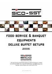 SICO-SST Buffet Setup Photo Gallery - Italasia