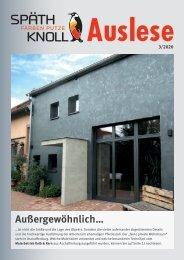 Späth-Auslese – Ausgabe 03/2020