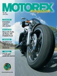 Huiles-moteur - Motorex