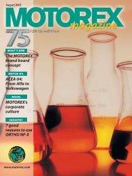 Motor Oil - Motorex