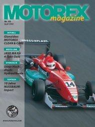 Magazin 65 dt. - Motorex