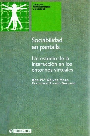 Sociabilidad en pantalla - Introducción Psicología