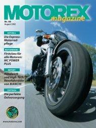 Magazin 66 dt. - Motorex