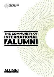 The Community of International Alumni - Politecnico di Milano