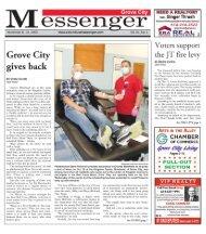 Grove City Messenger - November 11th, 2020