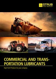 COMMERCIAL AND TRANSPORTATION LUBRICANTS