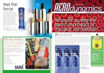 Aerosols sweep the board at Product - British Aerosol Manufacturers ...