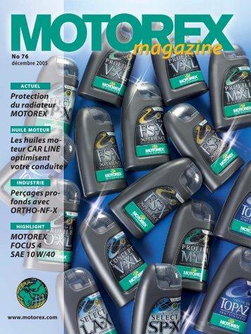 Protection Du Radiateur MOTOREX Les Huiles Mo